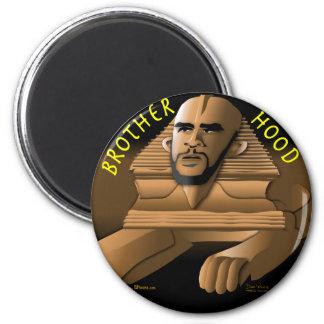 Brother Hood black 6 Cm Round Magnet