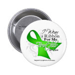 Brother-in-Law Lime Green Ribbon - Lymphoma Pin
