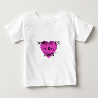 Brother In-Law of the Groom Baby T-Shirt