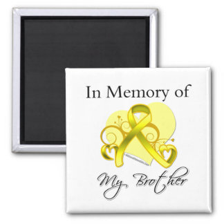 Brother - In Memory of Military Tribute Magnets