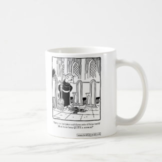 Brother Juniper - Must have been quite a sermon Basic White Mug