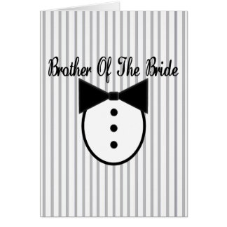 Brother of the Bride Cards
