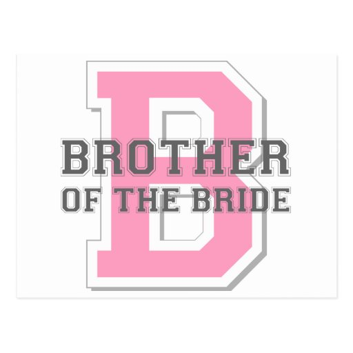 Brother of the Bride Cheer Postcards
