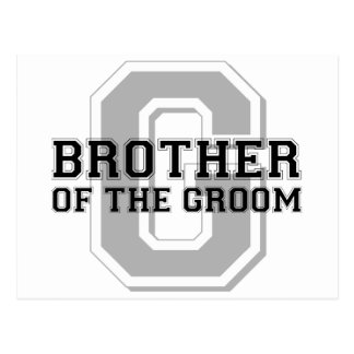 Brother of the Groom Cheer Postcard
