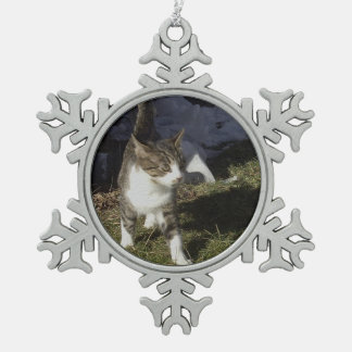 Brother Pewter Snowflake Decoration
