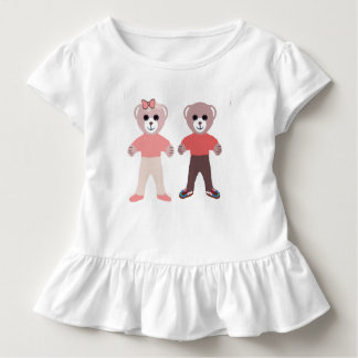 Brother & Sister baby bears Toddler T-Shirt