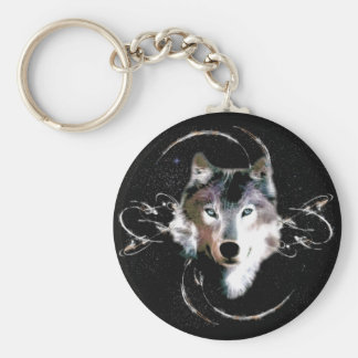 Brother Wolf Key Ring