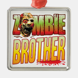 Brother Zombie Head Christmas Ornaments