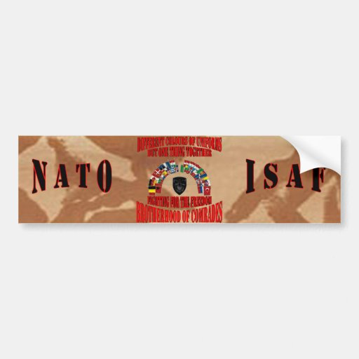 Brotherhood OF Military Comrades Bumper Sticker