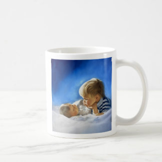 Brotherly Love Basic White Mug