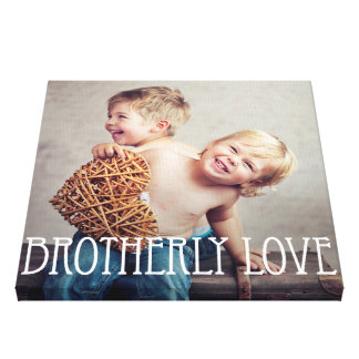 Photo canvas prints from Zazzle