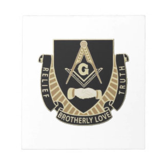 Brotherly Love Relief & Truth Notepad