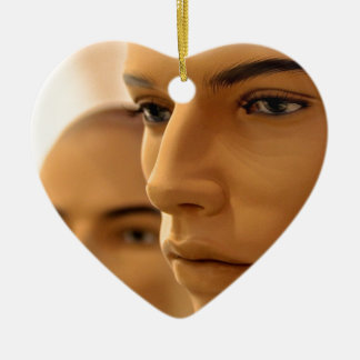 Brothers Keeper Ceramic Heart Decoration