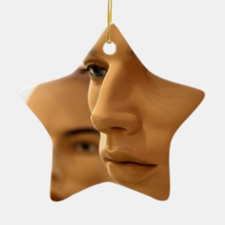 Brothers Keeper Ceramic Star Decoration