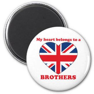 Brothers Fridge Magnet
