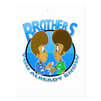 brothers postcard