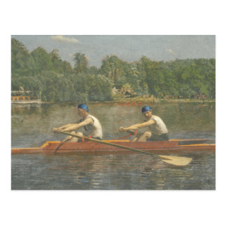 Brothers Racing 1873 Postcard