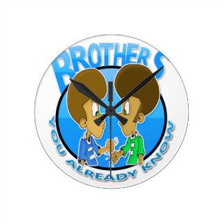 brothers round clock