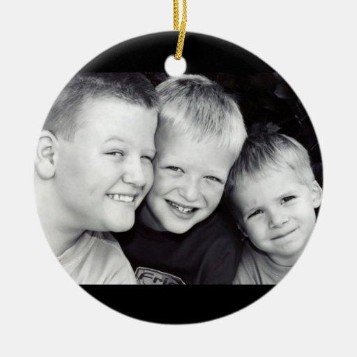 Brothers Three Circle Ornament