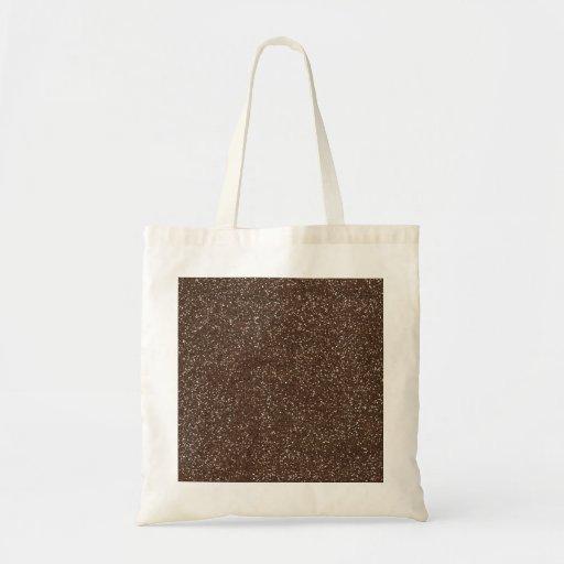 brown1 BEE MINE BROWN GLITTER TEXTURE BACKGROUND T Canvas Bag
