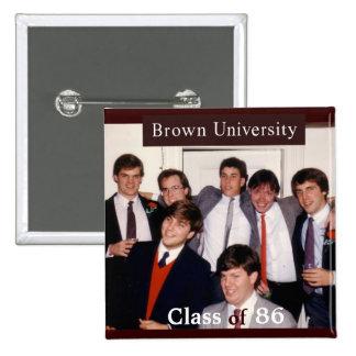 Brown 25th Reunion Button