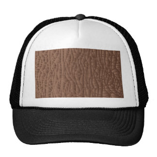 Brown Abstract Background Cap