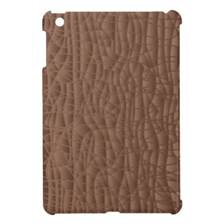 Brown Abstract Background iPad Mini Cover