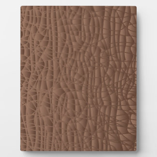 Brown Abstract Background Plaque