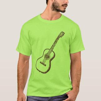 Brown Acoustic Classical Guitar T-Shirt