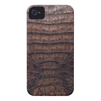 Brown Alligator Skin #3 iPhone 4 Case-Mate Case
