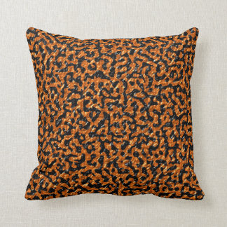 Brown and Black Lizard Cushion