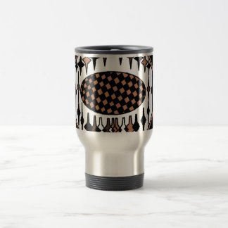 Brown and Black soccer, trophy travel mug. Travel Mug