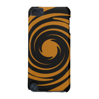 Brown and black swirl iPod touch (5th generation) cover