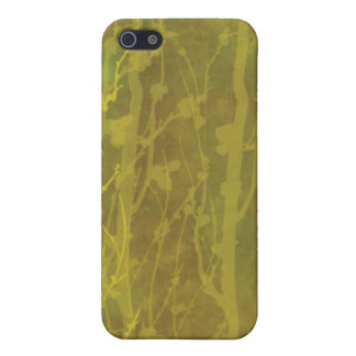 Brown and Gold Speck iphone Cas iPhone 5 Case