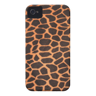 Brown And Orange Animal Pattern iPhone 4 Cases