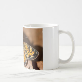 Brown and Orange Moth Apparel and Gifts Coffee Mugs