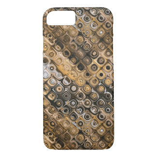 Brown And Tan Abstract iPhone 8/7 Case