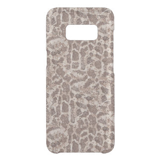 Brown and Tan Snake Skin Uncommon Samsung Galaxy S8 Case