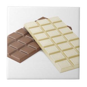 Chocolate Brown Decorative Ceramic Tiles | Zazzle.com.au