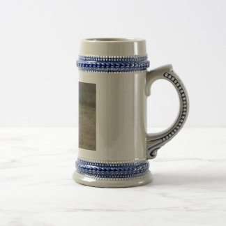 Brown and White Colt Beer Stein