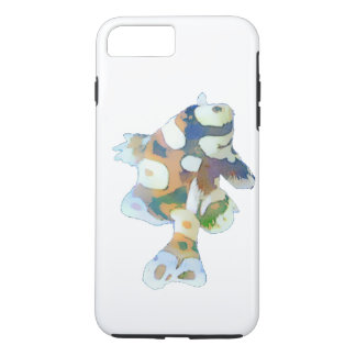 Brown and white Fish Watercolor iPhone 7 Plus Case