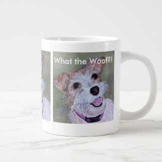 BROWN AND WHITE JACK RUSSELL | EXTRA LARGE MUG