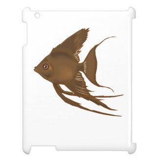 Brown Angel Fish iPad Cases