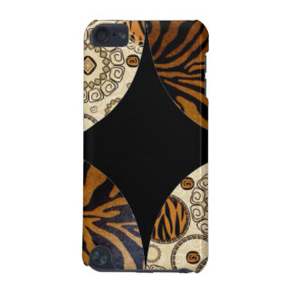 Brown Animal Print Pattern Design iPod Touch 5G Cover