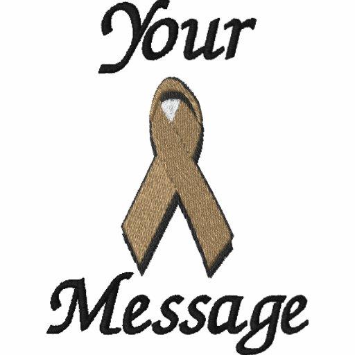 Brown awareness ribbon - Customize