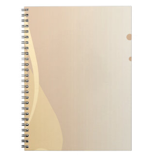Brown Background Notebooks