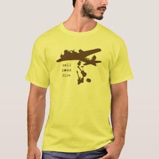 Brown Band Bomber T-Shirt