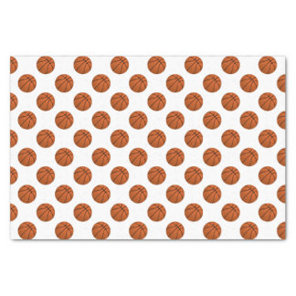 Brown Basketball Balls on White Tissue Paper