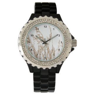 Brown Beach Sea Grass Watches