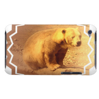 Brown Bear Cub iTouch Case Barely There iPod Cover